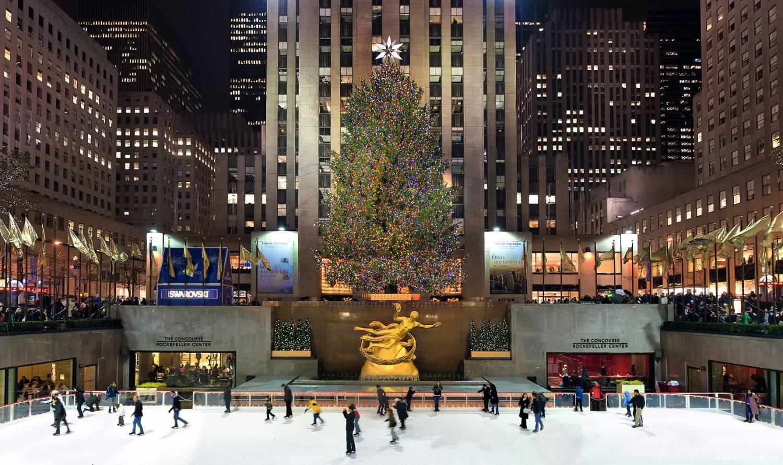 Новый год в Нью-Йорке (Видео)
